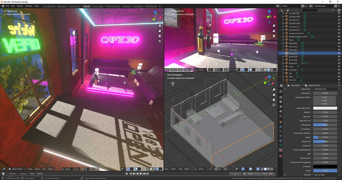 Blender 3D Modelling & Animation course